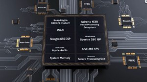 Компоновка чипа Snapdragon 845
