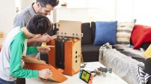 Робот-рюкзак Nintendo Labo