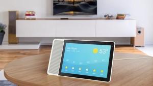 Смарт-дисплей Lenovo с Google Assistant