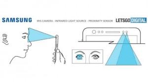 Сканер радужной оболочки глаз Galaxy S9