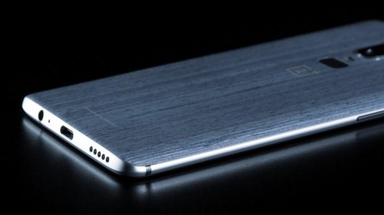 Деревянная отделка OnePlus 6