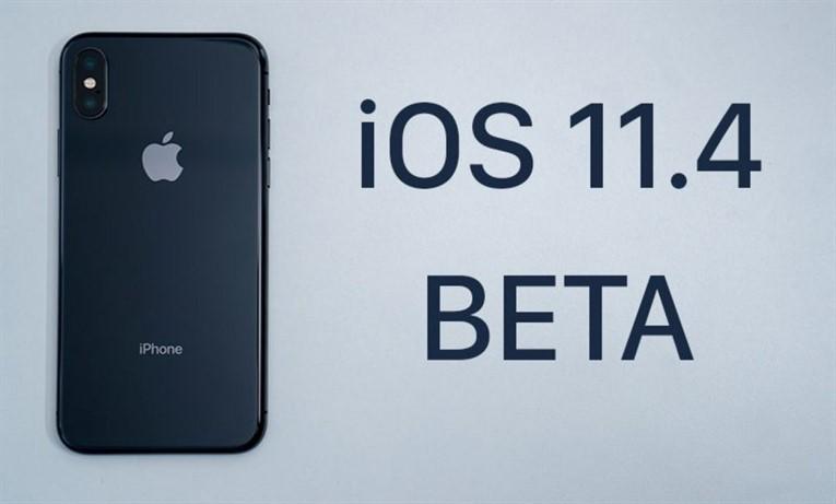 Обновление iOS 11.4 Beta