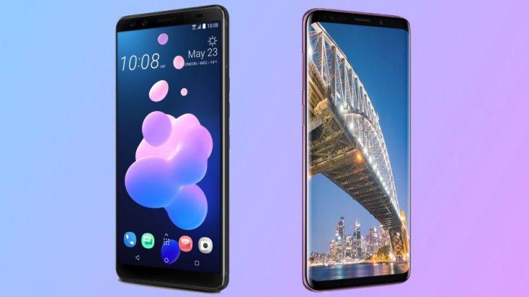 Сравнение HTC U12 Plus против Samsung Galaxy S9