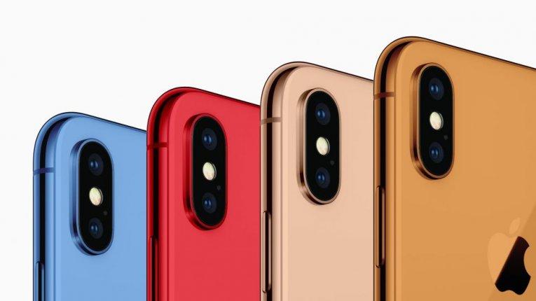 Новые цвета iPhone