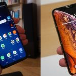 iPhone XS против Samsung Galaxy S9