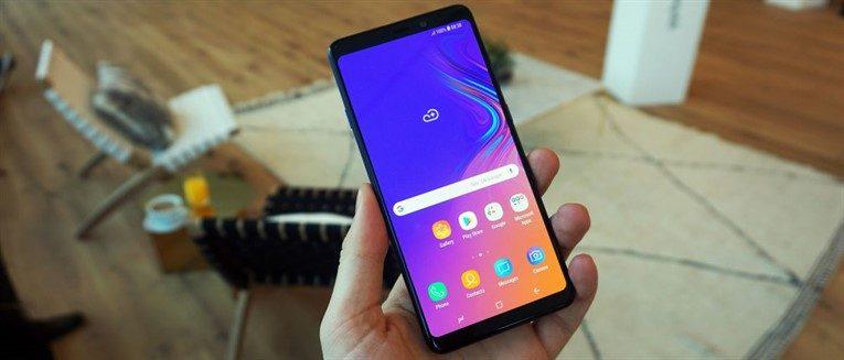 Обзор Samsung Galaxy A9 (2018)