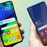 Samsung Galaxy A80 против Galaxy S10
