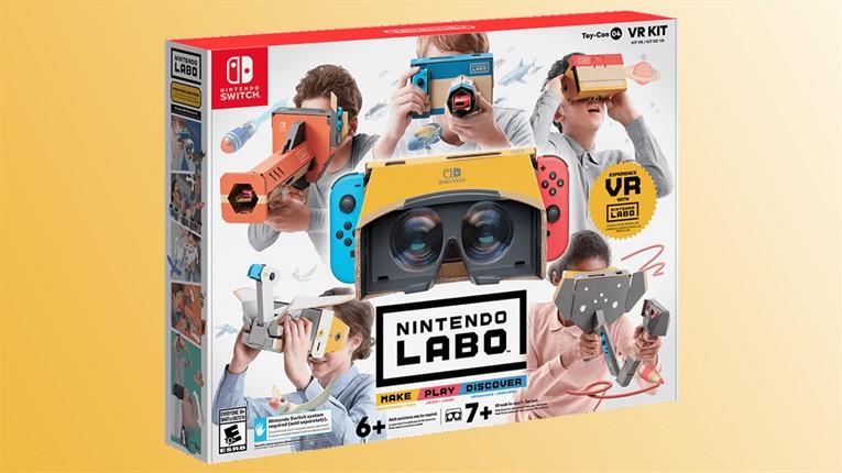 Обзор Nintendo Labo VR Kit