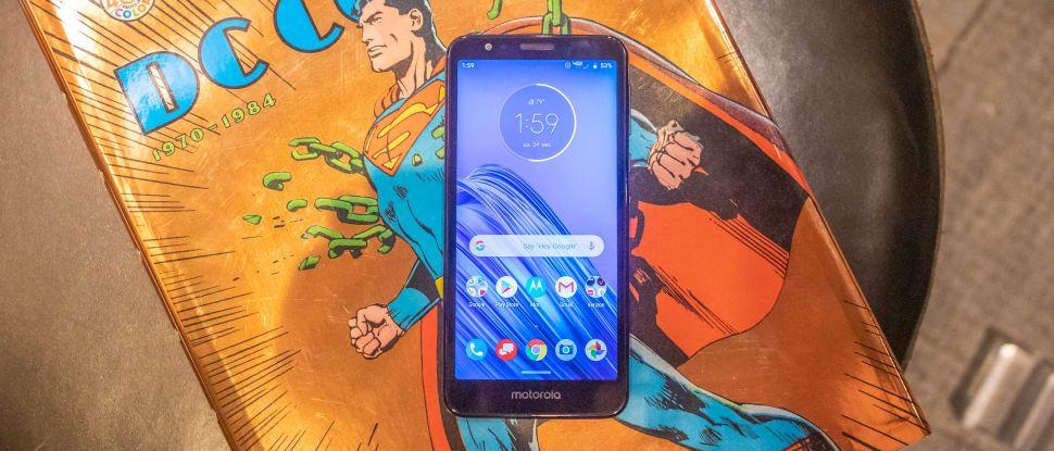 Обзор Motorola Moto E6