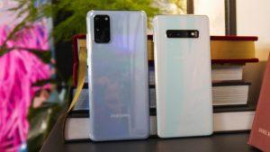 Samsung Galaxy S20 Plus и Galaxy S10 Plus