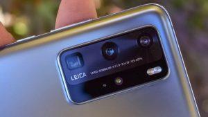 Камера Huawei P40 Pro