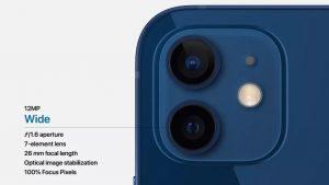 Камеры iPhone 12 (2020)