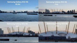 Пример фотографии с увеличением на Samsung Galaxy A52 5G