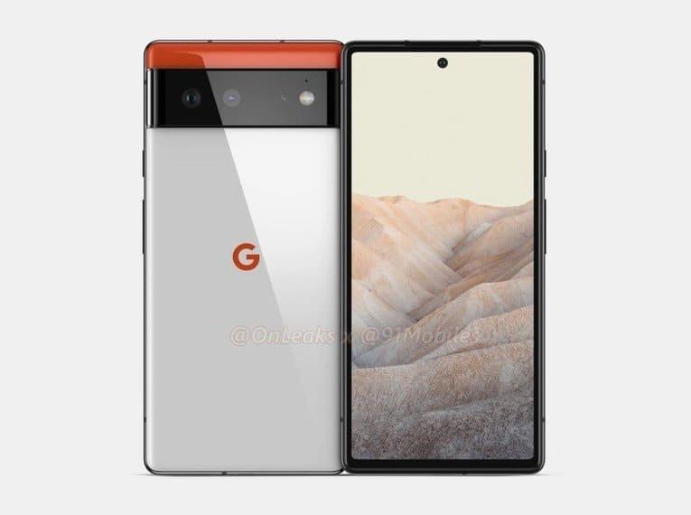 Изображение Google Pixel 6