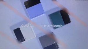 Промо Samsung Galaxy Z Flip 3