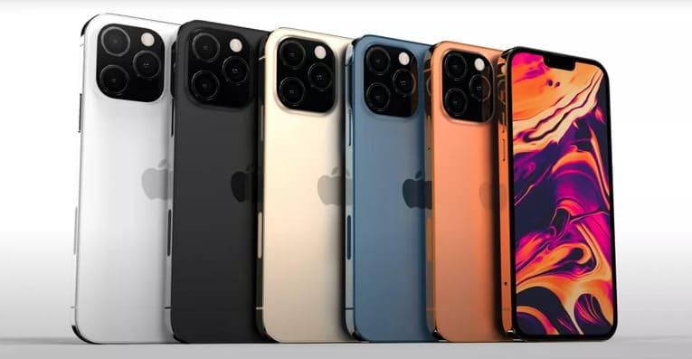 Рендеры iPhone 13