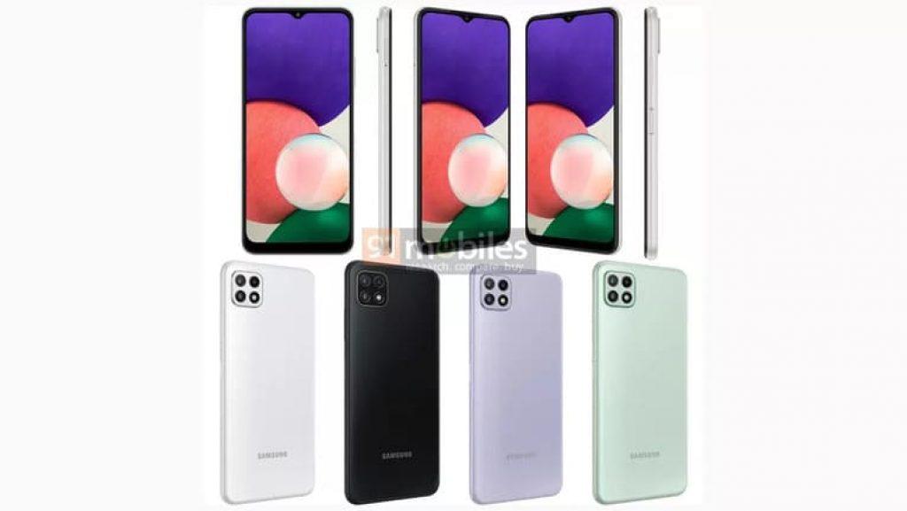 Рендер Samsung Galaxy A22 5G
