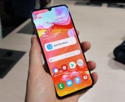 Предварительный обзор Samsung Galaxy A70