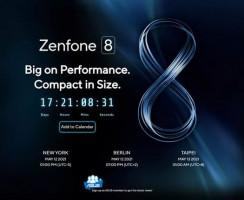ASUS подтверждает ZenFone 8 на 12 мая