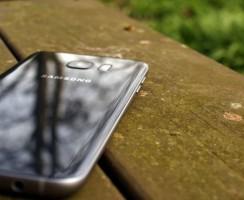 Samsung Galaxy S8: Телефон на фотографии